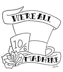 Image result for alice in wonderland drawings mad hatter