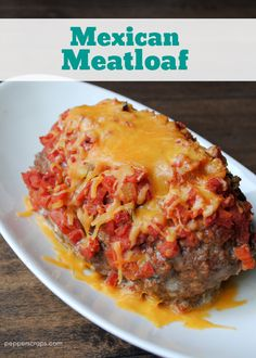 Crock pot Mexican meatloaf