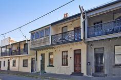 Terrace houses, Newcastle East NSW