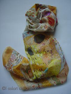 """""""The kiss"""" of Gustav Klimt"""