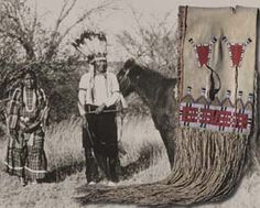 Massacre at Sand Creek  Chief Cometsevah and Little Woman, and saddle bag survived the massacre.  Little Woman also survived Custer's attack at Washita.
