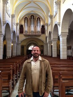 St. Catherine Church / Nativity / Bethlehem, Palestine  11.7.14 / Rieger Organ