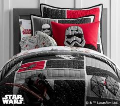 Star Wars™ The Force Awakens™ Quilted Bedding #pbkids