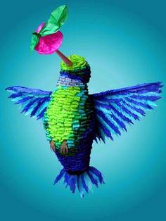 Piñata~Hummingbird~Amigos del Museo de Arte Popular A.C. (Mexico): CONVOCATORIA DEL CONCURSO DE PIÑATAS EN EL MAP