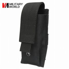Military World Tactical Molle Vest Accessory Utility Belt Bag Airsoft Hunting Camo Flashlight Battery Holster Case Pouch Pack