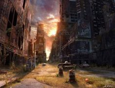 After The Apocalypse: Emotionally Impacting Illustrations By Jonas De Ro