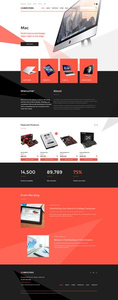 Computer Store WooCommerce Theme http://www.templatemonster.com/woocommerce-themes/57763.html