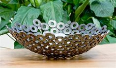 reclaimed washer bowl