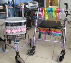 Decorated Walker's for Seniors | Tuesday, June 17, 2014