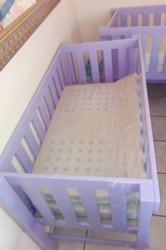 custom made pine extra large twin cot can convert into a bed or