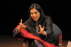Indian director Mira Nair of Monsoon Wedding, Salaam Bombay