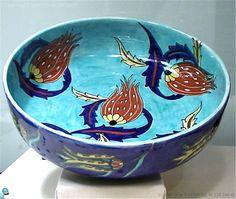 Islamic World, Islamic Art, Glazed Tiles, Beautiful Soup, Cool Curtains, Turkish Tiles, Vegetable Bowl, Ceramic Plates, Earthenware