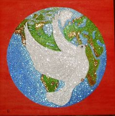 MY WORK-PEACE IN THE WORLD