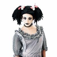 Gothic Rag Doll Adult Wig