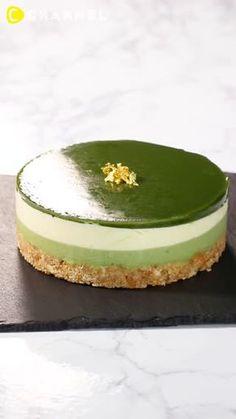 4 Layer Matcha Cheesecake