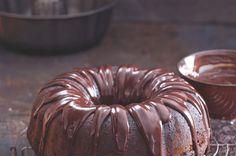 chocolate cake with beer Yami Yami, Blondies, Doughnut, Chocolate Cake, Sweet Tooth, Menu, Breakfast, Desserts, Recipes