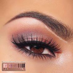 "! Maryam Maquillage !: NAKED 3 Tutorial: ""Rosy Smokey"""