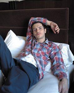 "John Frusciante; ""hey girl, come snuggle ;-)"""