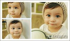 Is he not the cutest thing ever?!?!?!  White-Asian baby!