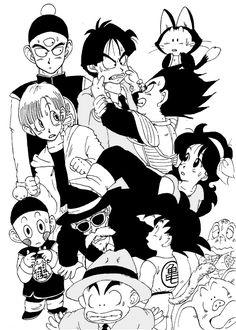 They all love vegeta and piccolo is just like gohan walk away dragon ball z pinterest - Goku e bulma a letto ...