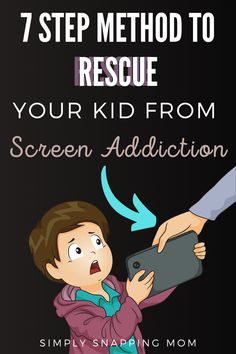 How to Limit Screen Time for Kids - - Learn the negative effects that overusing screentime has on children and a 7 step gentle approach to unplug as a family and reduce technology. Parenting Toddlers, Kids And Parenting, Parenting Hacks, Gentle Parenting, Peaceful Parenting, Parenting Quotes, Teaching Kids, Kids Learning, Screen Time For Kids