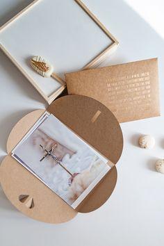 Pierwsza Komunia Święta, pudełko do zdjęć, złoty nadruk,