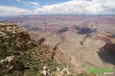 One of the tremendous views visitors get when visiting Mather Point at #grandcanyon More: https://paradisefoundtours.com/blog/news-alerts/mather-point-must-visiting-grand-canyon-national-park/