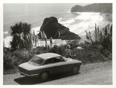 Title Piha - Northland  Publicity Caption Piha Beach.  Photographer Mr. Riethmaier.   March 1977, Piha, Auckland Province.  Archives New Zealand Reference: AAQT 6539 W3537 171 / B12023 www.archway.archives.govt.nz/ViewFullItem.do?code=24803047  For further enquiries please email research.archives@dia.govt.nz   Material from Archives New Zealand Te Rua Mahara o te Kāwanatanga Nz History, Kiwiana, Old Photographs, Old West, Auckland, Vintage Posters, New Zealand, Nostalgia, Tattoos