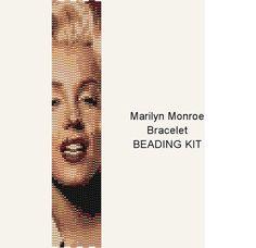 Gift Boxed Marilyn Monroe 3-Drop Peyote Stitch by PalacePatterns