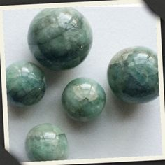 Rare Emerald Balls - Natural 100% Genuine Emerald Spherical Balls. These Rare and unique beauties are timeless! Shop these only on Gemsforjewels - Flat 50% off on all items!!