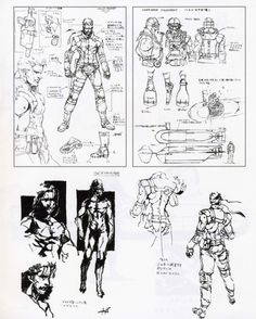 The Art of Metal Gear Solid - Solid Snake