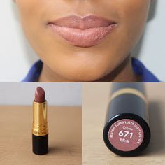 I& back again with another makeup post :D. This time it& my favourite nude lipsticks. I think by now it& quite obvious . Bright Lipstick, Lipstick Art, Lipstick Colors, Lip Colors, Matte Lipsticks, Revlon Lipstick Swatches, Drugstore Lipstick, Fall Lipstick, Revlon Super Lustrous Lipstick