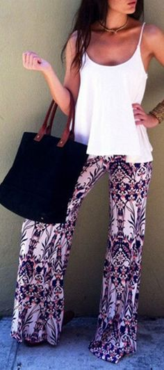 If you don't have that mixed abstract print loose fit pants. Then this pant is for you! More surprise at OASAP!