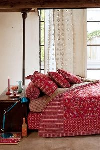 PiP Chinese Blossom duvet cover red