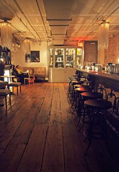 Secret bars and interesting architecture. A few of our favorite things. #NYC #Speakeasy