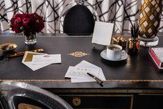 Write Often | Jean Liu Design Desk Set, Traditional House, European Fashion, Table Decorations, Writing, Prints, Design, Home Decor, Decoration Home