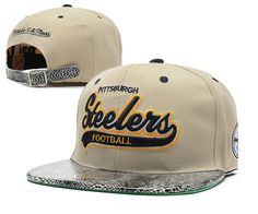 NFL PITTSBURGH STEELERS Mitchell And Ness Gray SNAPBACK HATS 5996a33e5fb