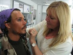 I sat down with Ve Neill, the make up artist behind Pirates of The Caribbean...
