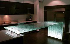 Glas Arbeitsplatte ORIGINAL Think Glass