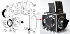 You can now build you own version of the cardboard Hasselblad pinhole camera that we featured a couple days ago. Kelly Angood has released a PDF with the t