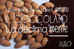 #cioccolato #mandorle #tavolettadicioccolato #puro
