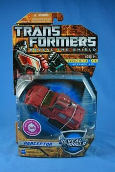 Transformers Reveal The Shield PERCEPTOR Deluxe 2011 MOSC (Sold)