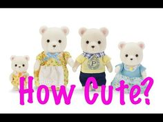 Calico Critters ❤❤❤ Polar Bear Family Review