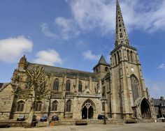The Cathedral at Treguier is a must see place to visit, wonderful architecturally, inside is absolutely beautiful and the stained glass is a mixture of very old and very modern. The cloisters are lovely to wander around and the patron saint of Brittany was buried here - St Yves