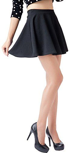 awesome   Springwell Women Girls Stretch Waist Flared Plain Pleated Casual Mini Skater Skirt (one size, black) #fashion #beauty #lifestyle #vintage #beverage #vintagedress #hair #nails  Check more at http://www.musthave.ovh/springwell-women-girls-stretch-waist-flared-plain-pleated-casual-mini-skater-skirt-one-size-black/
