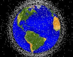 When you look up at the night sky all you see is stars and maybe a distant planet or two, but there's actually a whole lot of garbage floating around in Earth's orbit. The space around …