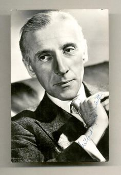 "wilfrid hyde-white - The man who played Colonel Pickering in the Musical version of ""My Fair Lady."""
