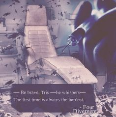 Divergent... The first time is always the hardest.