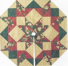 Heavens-Light-Tree-Skirt-or-Table-Topper-quilt-pattern-by-PineBerry-Patch
