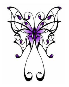 John Higley: Butterfly Tattoos